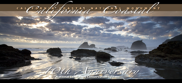 California Coastal National Monument Poster 10th Anniversary